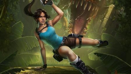 """Visual de Lara Croft em """"Relic Run"""" lembra os jogos clássicos da franquia"""