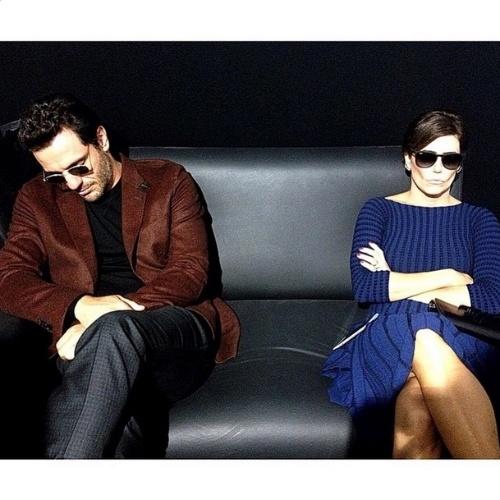 ... abr.2015 - Reynaldo Gianecchini decidiu tirar um sarro dos atores