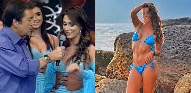 """Luiza Módolo fez parte do balé do Faustão por três anos, de 2011 a 2014. Ela volta ao """"Domingão"""" para ajudar a selecionar as novas bailarinas da programa de auditório"""