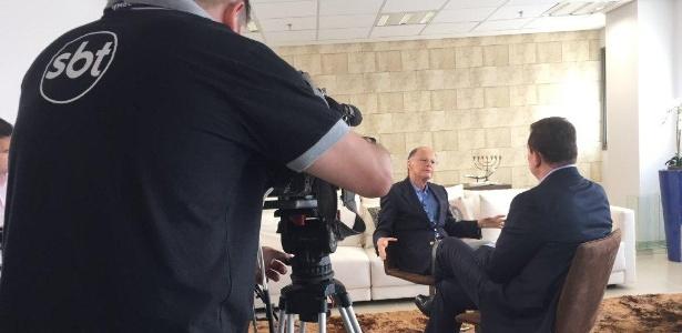 """Edir Macedo em entrevista ao programa """"Conexão Repórter"""", do SBT"""