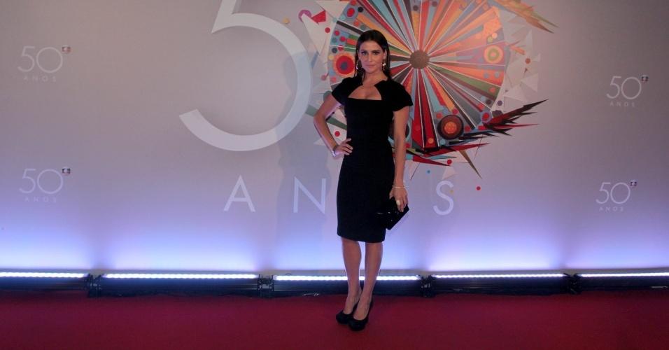 Globo faz festa para comemorar 50 anos da emissora bol - Globos 50 anos ...