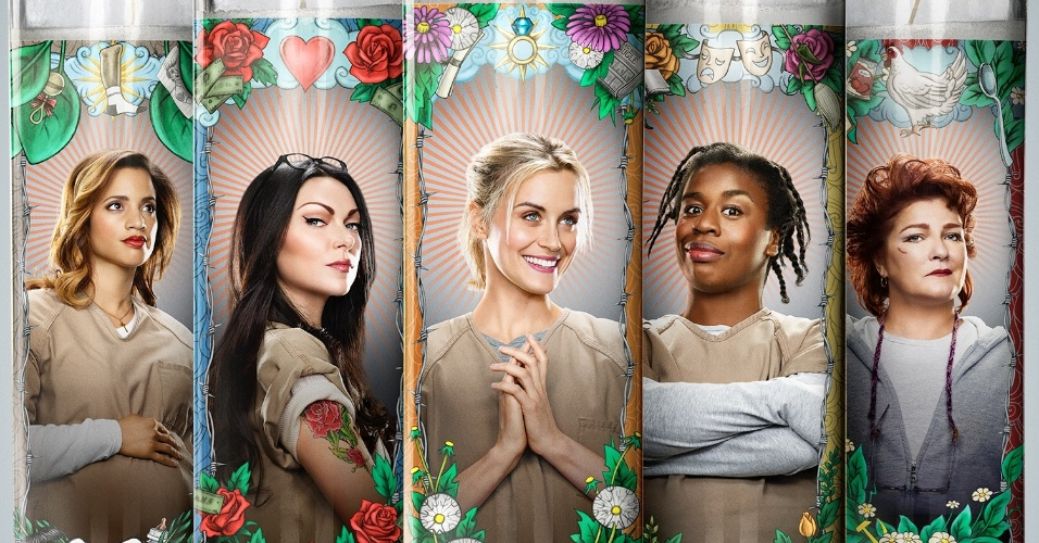 Orange Is The New Black Promo Poster Detentas ilustr...