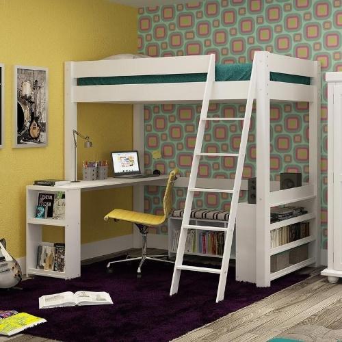 Escrivaninha Para Quarto Em Curitiba ~ Cama com escrivaninha ? op??o funcional para quarto infantil e