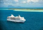 Há lugar mais lindo para um cruzeiro? Veja roteiros pela Polinésia Francesa - Divulgação/Paul Gauguin Cruises