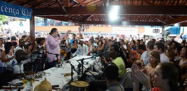 Samba do Trabalhador, no Renascença Clube