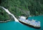 Vinhos e cachoeiras são atrações de cruzeiros por rios dos Estados Unidos - Divulgação/Un-Cruise