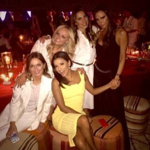 No Instagram, Eva Longoria brinca que é uma das Spice Girls