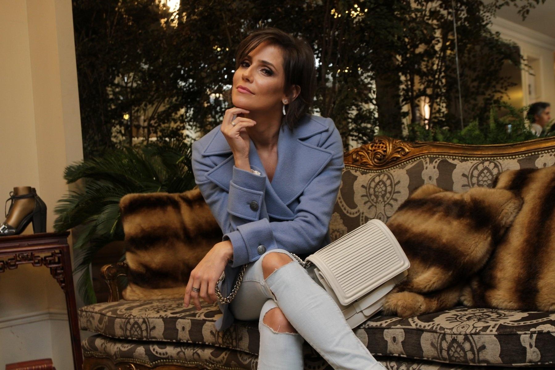 05.mai.2015 - Deborah Secco diz que Drica Moraes, sua substituta em