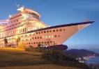 Na Ásia, é possível curtir a vida em um navio sem sair de terra firme - Divulgação/Sun Cruise Resort