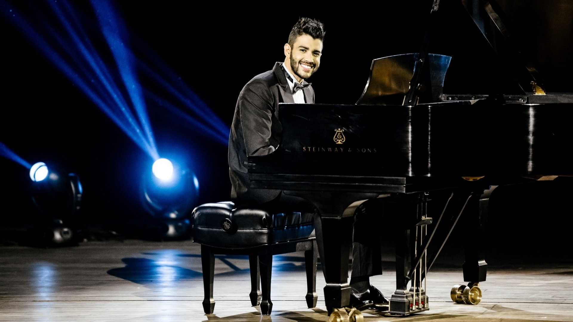 O cantor sertanejo Gusttavo Lima