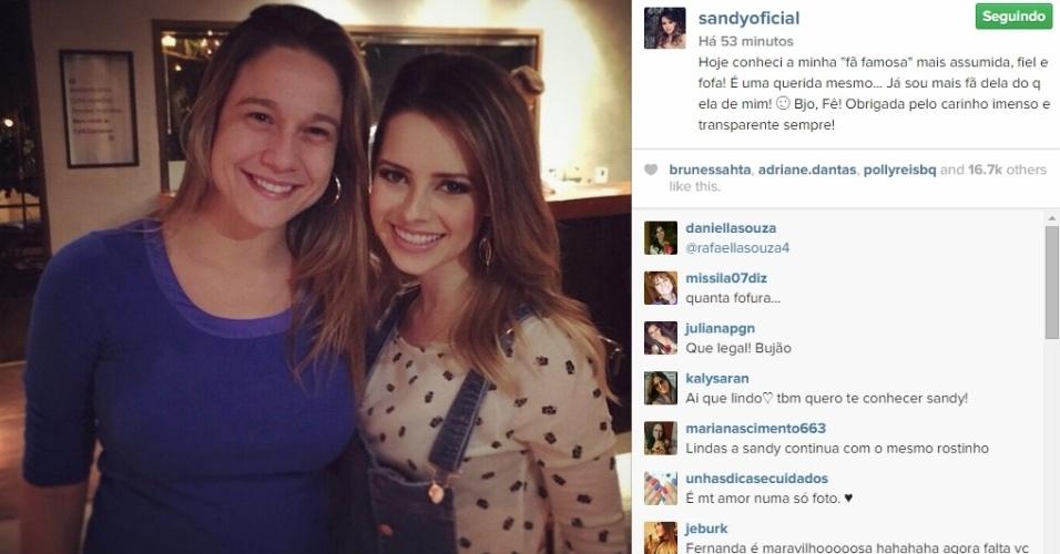 07.mai.2015 - Após conhecer a jornalista Fernanda Gentil, sua