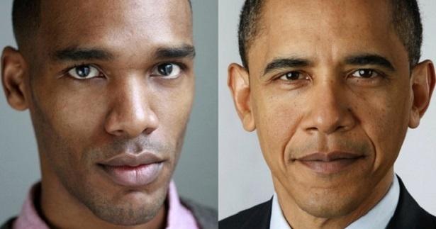 O ator Parker Sawyers, que vai viver Barack Obama no cinema