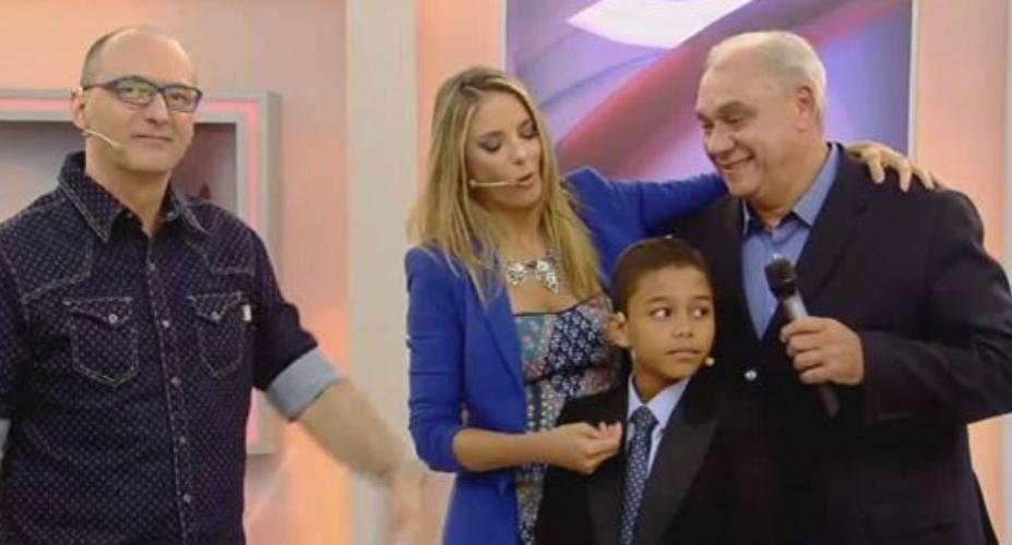 15.mai.2015 - Marcelo Rezende
