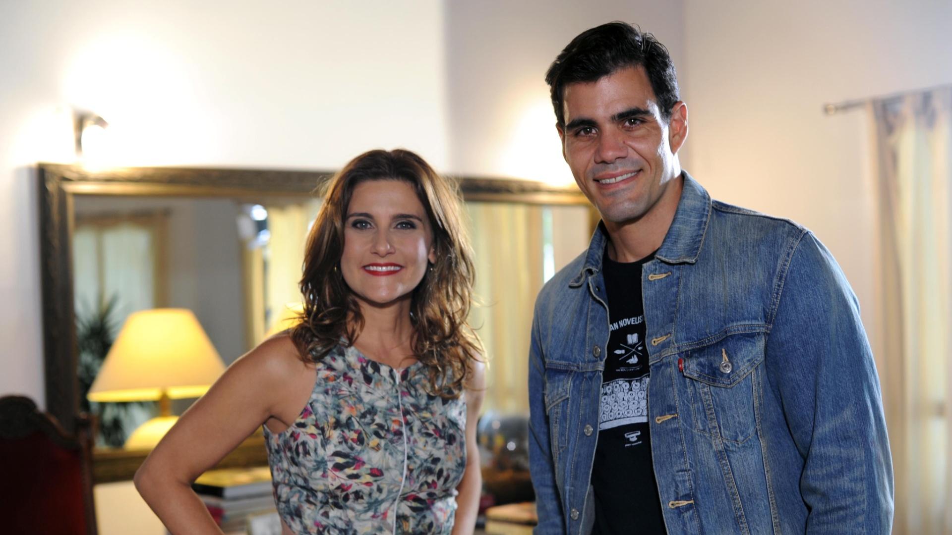 Juliano Cazarré é o entrevistado de Simone Zuccolotto no