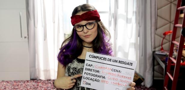 """Larissa Manoela interpreta as gêmeas Manuela e Isabela em """"Cúmplices de Um Resgate"""", próxima novela do SBT. Na foto, a atriz está caracterizada como Isabela"""