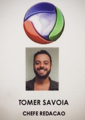 """O produtor Tomer Savoia comemora sua contratação na Record. Ele saiu do """"CQC"""" para trabalhar no programa da Xuxa"""