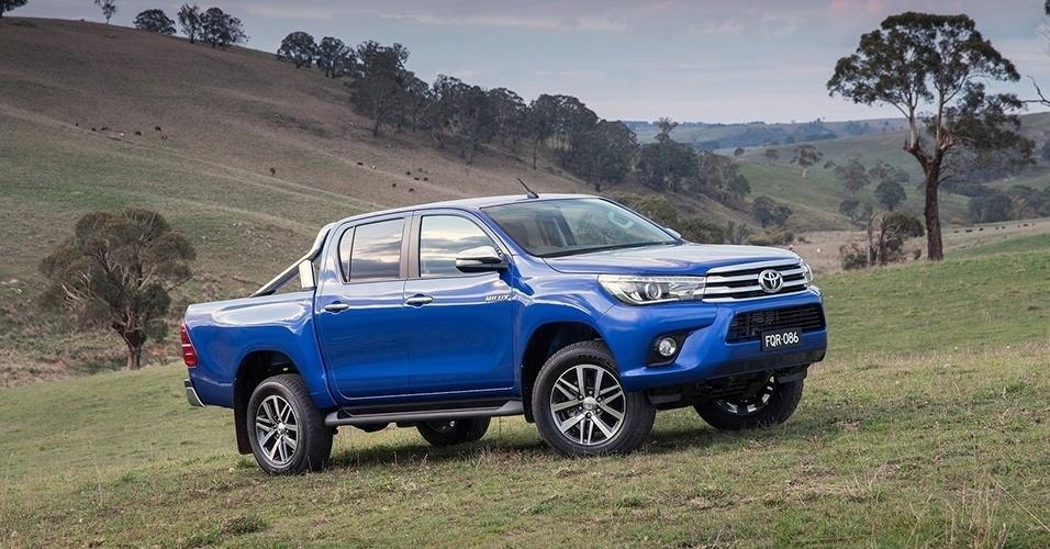 Toyota Hilux chega à oitava geração; conheça - Fotos - UOL Carros