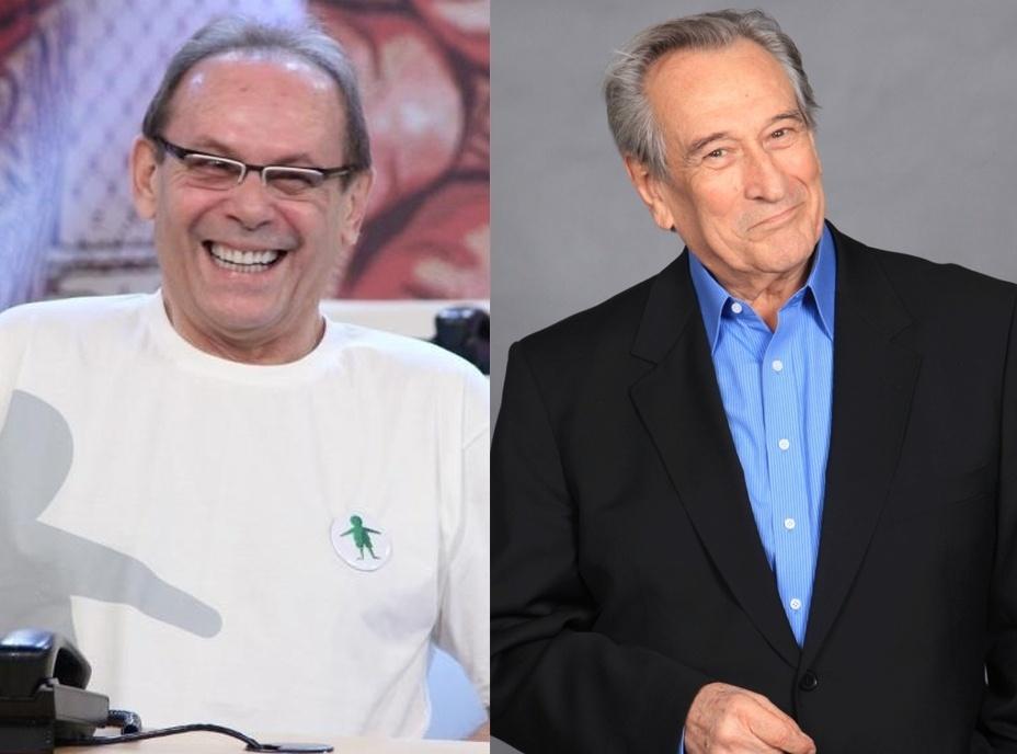 25.mai.2015 - José Wilker e Paulo Goulart viraram nomes de avenidas no Rio de Janeiro