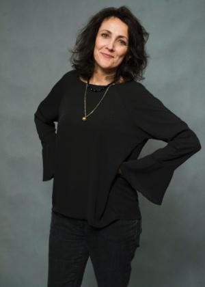 A atriz Ana Barroso