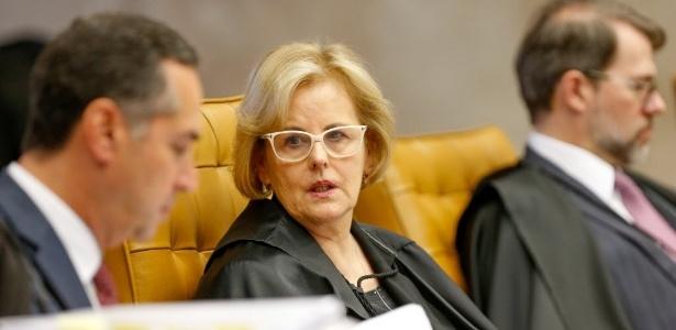 A ministra Rosa Weber, do STF