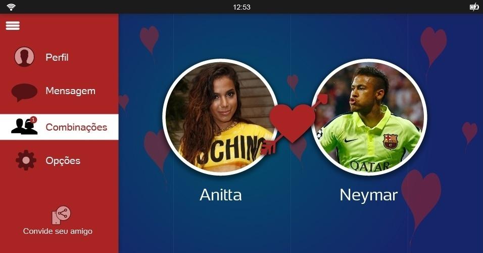 Neymar poderia pôr fim a sua solteirice engatando um relacionamento com Anitta no Dia dos Namorados. Em dezembro do ano passado, os dois fizeram um dueto sensual durante um show da cantora em Santos