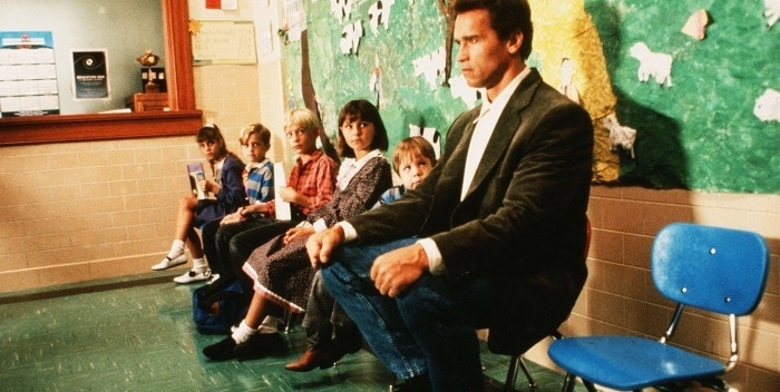 Arnold Schwarzenegger, em cena do filme