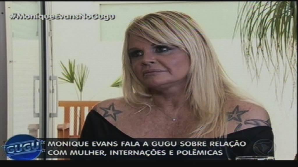 17.jun.2015 - Monique Evans falou sobre temas polêmicos de sua vida durante entrevista