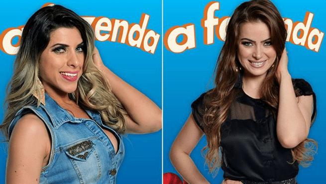 4.dez.2015 - Ana Paula Minerato e Rayanne Morais formam a última roça de