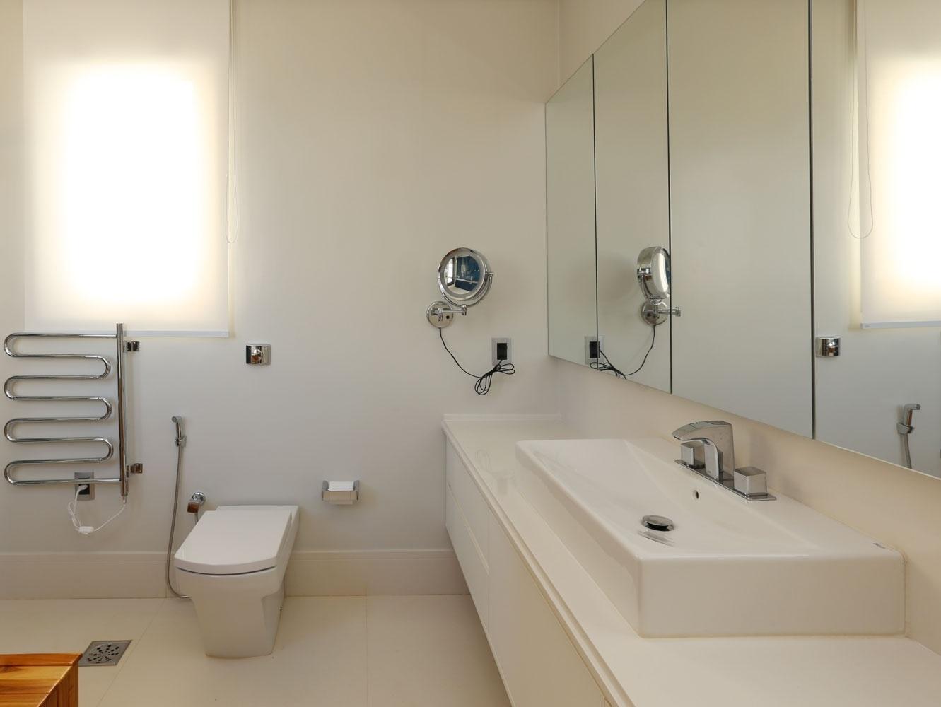 para decoração tendo muito ou pouco espaço BOL Fotos BOL Fotos #A46D27 1331x1000 Banheiro Bege Fotos