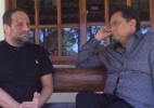 Após agressão de cunhado, ex-Polegar Ricardo mostra hematomas no rosto - Divulgação/TV Record