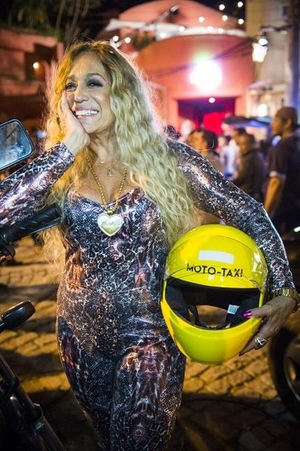 Adisabeba, a rainha do Morro da Macaca, favela fictícia da trama de João Emanuel Carneiro