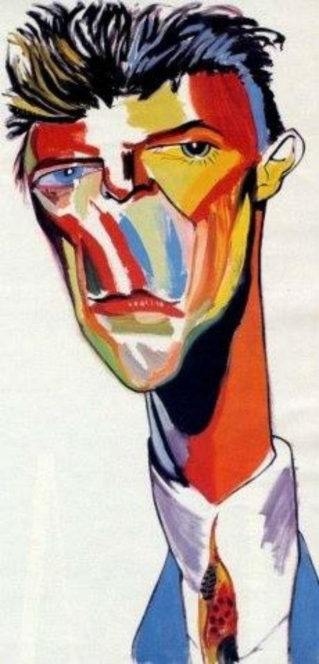 Após a morte de David Bowie, o artista Philip Burke homenageou o cantor