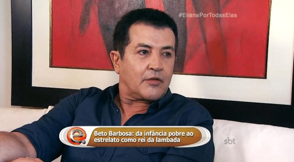 10.jul.2016 - Beto Barbosa em entrevista ao programa
