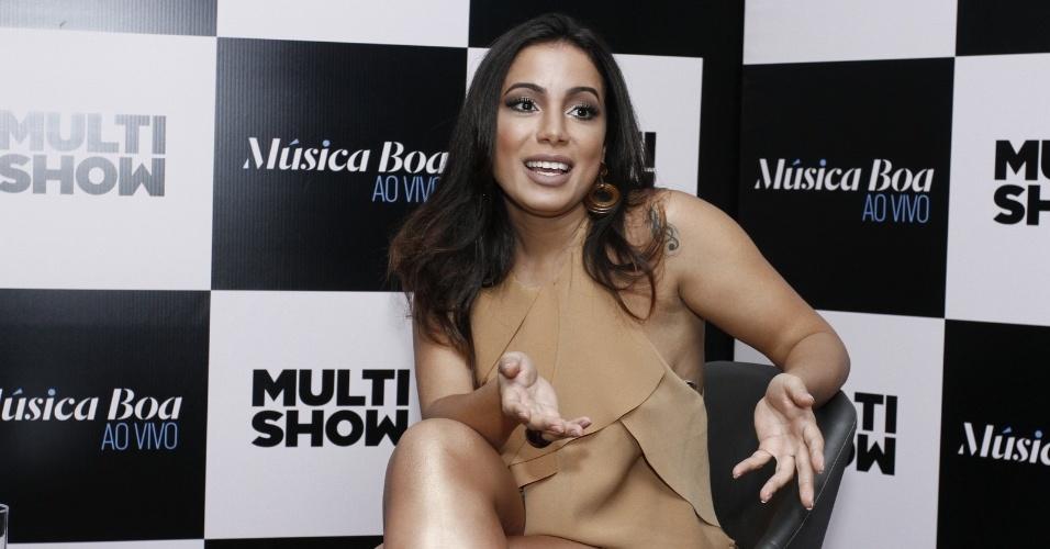 Anitta será a apresentadora da terceira temporada de