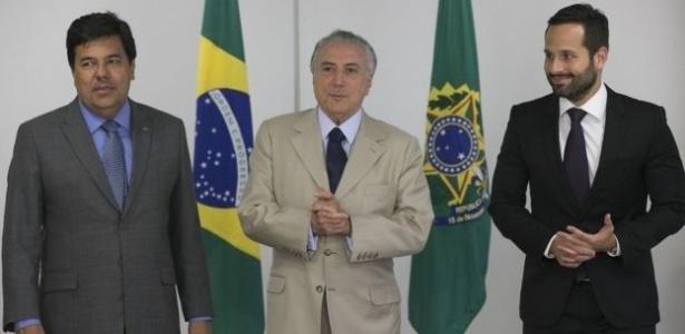 Na gestão Temer, Cultura tem um secretário, Marcelo Calero (à. dir.), que responde ao ministro Mendonça Filho (esq.)