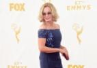 Óculos de sol no Emmy? Jessica Lange usa o acessório e vira assunto na web (Foto: Getty Images)
