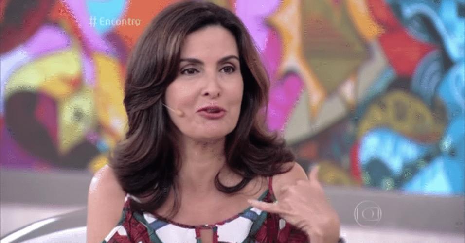 17.fev.2016 - Fátima Bernardes dança hit