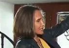 Florinda Meza diz que ficou sete horas abraçada a Bolaños após sua morte - Reprodução/TV Record