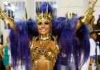 Diva Depressão: Sabrina do Zodíaco e Mangueira com Cauã arrasam na Sapucaí - Reprodução/Montagem
