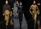 Marcas requintadas e populares têm coleção inspirada na tendência militar - Getty Images/MontagemUOL