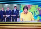 Confusão em links de Faustão e Galvão marca transmissão de jogo do Brasil - Reprodução/TV Globo