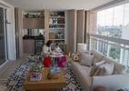 Moradores transformam varandas em brinquedotecas e até cozinhas (Foto: Danilo Verpa/Folhapress)