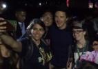 """Benedict Cumberbatch, o """"Doutor Estranho"""", é tietado por fãs na Comic-Con - Reprodução /Twitter"""