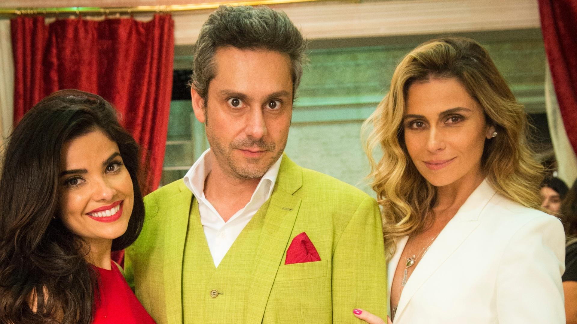 Vanessa Giácomo, Alexandre Nero e Giovanna Antonelli formam o triângulo amoroso central de