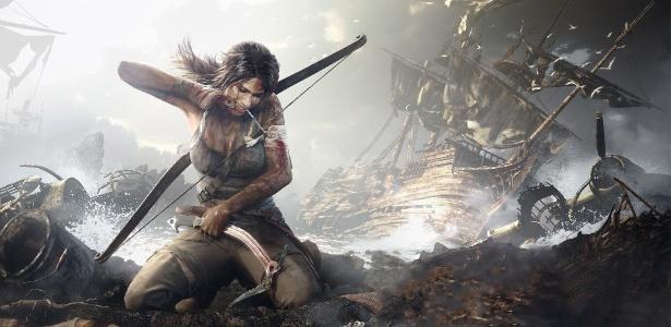 A nova Lara Croft é vista como um bom exemplo de personagens femininas nos games