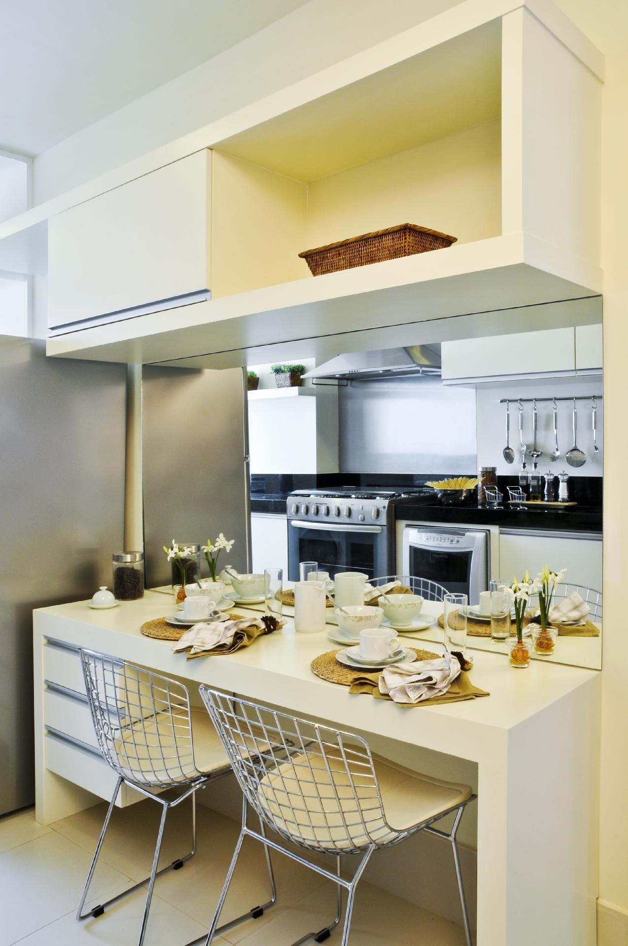 Fotos De Bancadas De Cozinha E Decida Qual A Melhor Pra Você  #927F39 1275 1920