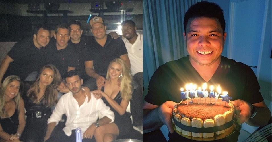 aniversário Ronaldo 39 anos