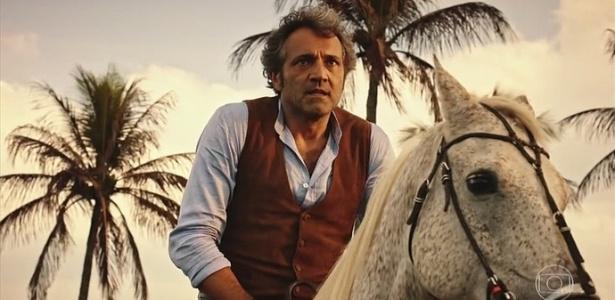 """Domingos Montagner interpreta Santo em """"Velho Chico"""", novela da Globo"""