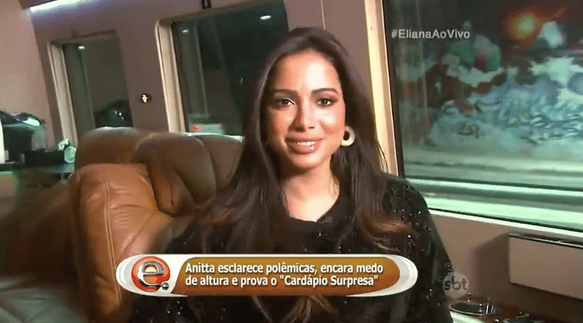 22.mai.2016 - Anitta participa do programa