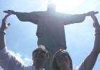 """Carlos Villagrán, o Quico da série """"Chaves"""", visita o Cristo Redentor - Reprodução/Instagram/marabekk"""